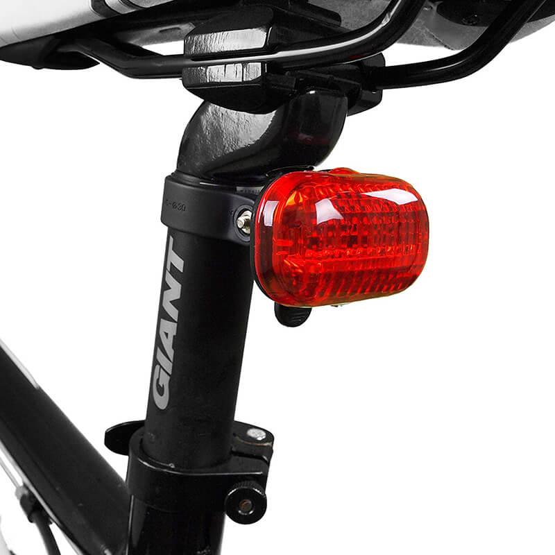 BV Bicycle Light Set Super Bright 5 LED Headlight, 3 LED Taillight