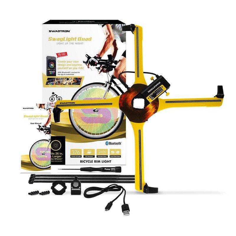 SWAGLIGHT Bike Spoke Lights Mobile App & Theft Alarm