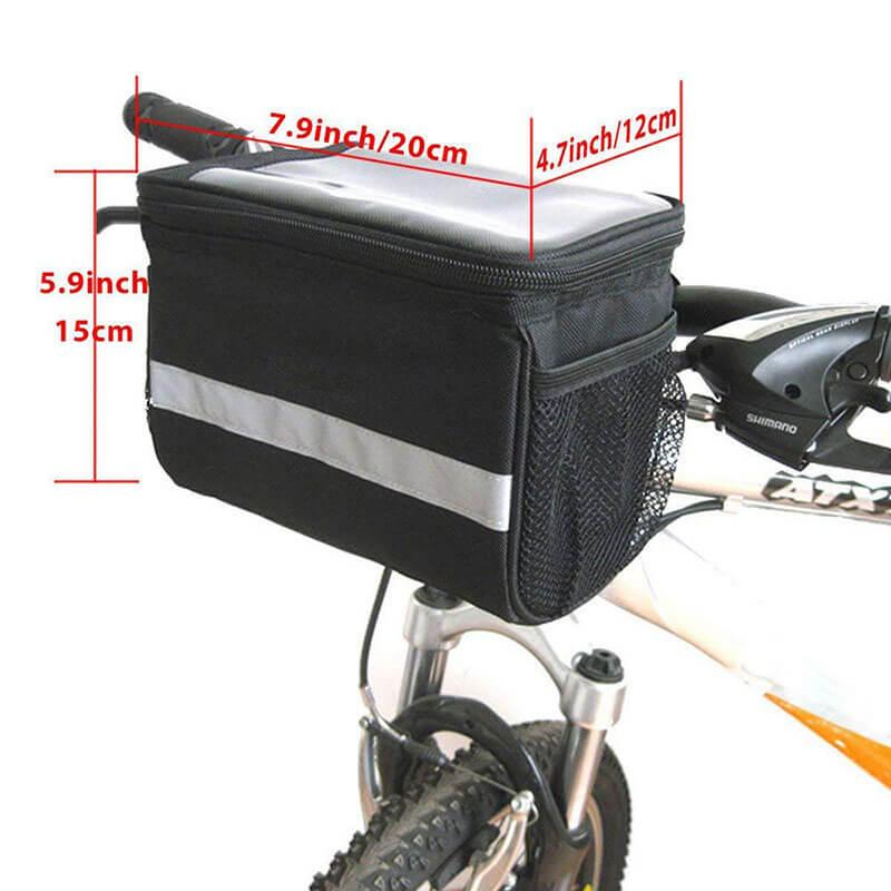 bicycle basket handlebar