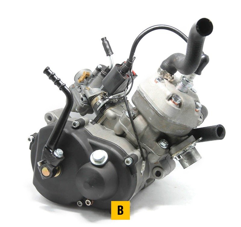 49cc Water Cooled 2 Stroke Engine