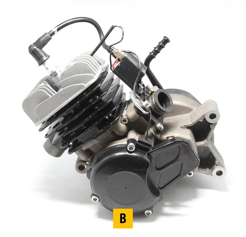50cc-Air-Cooled-2-Stroke-Engine