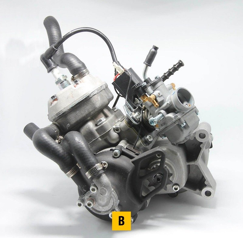 65cc Water Cooled 2 Stroke Engine