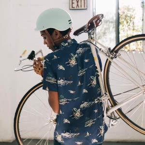 anti theft bike helmet