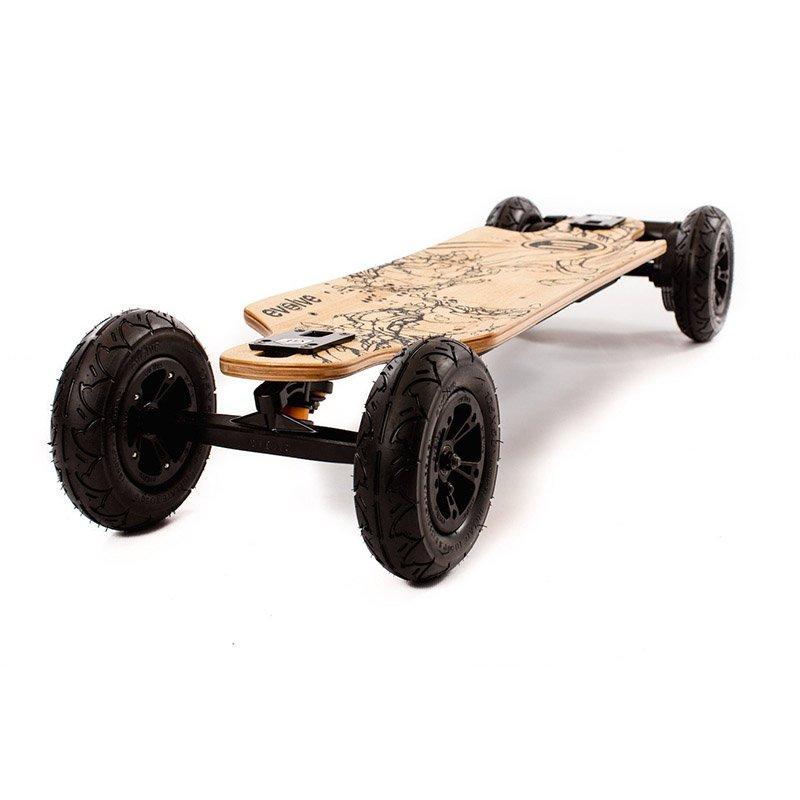 evolve 2 in 1 electric skateboard