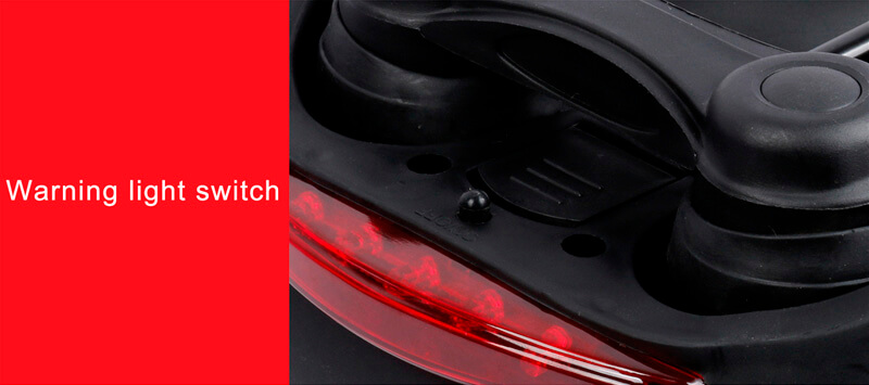 Bicycle seat with Tail Light