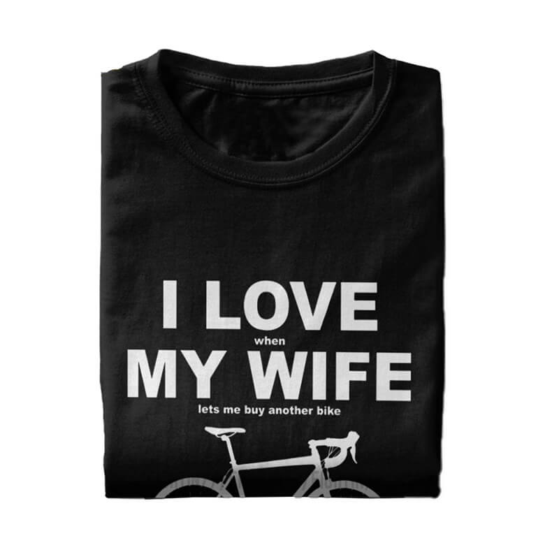 I Love When My Wife Lets Me Buy Another Bike T Shirts Funny Summer