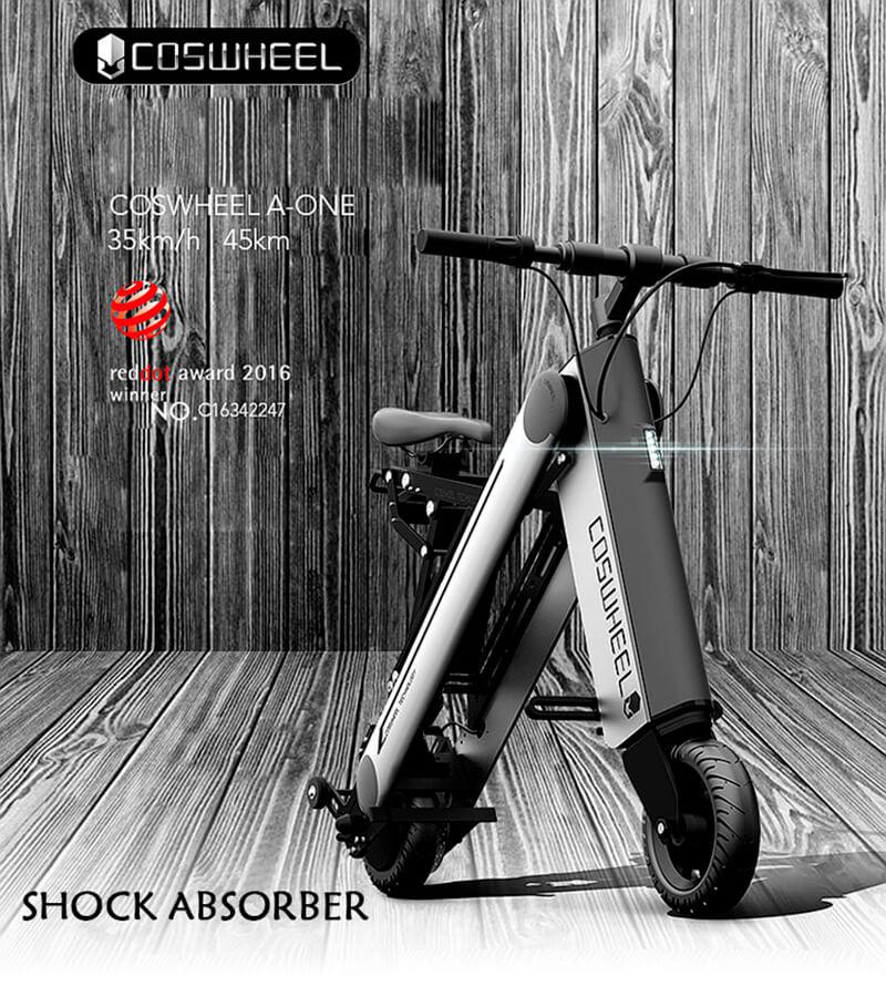 coswheel electric bike