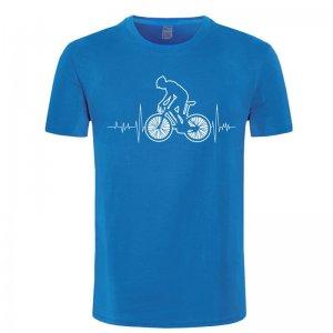 heartbeat mountain bike t shirt